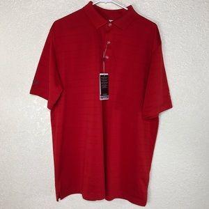 """Callaway NWT Mens """"Auto Team"""" Shirt Size L Polo"""